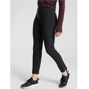 NWT Athleta Wander Slim Ankle Pant Bottom Black